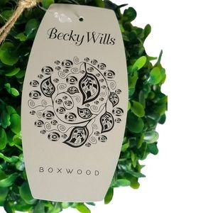 Becky Wills Accents - 🆕Becky Wills Boxwood Hanging Ball